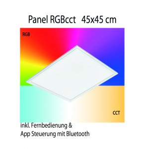Panel RGB cct Eglo connect 45x45cm