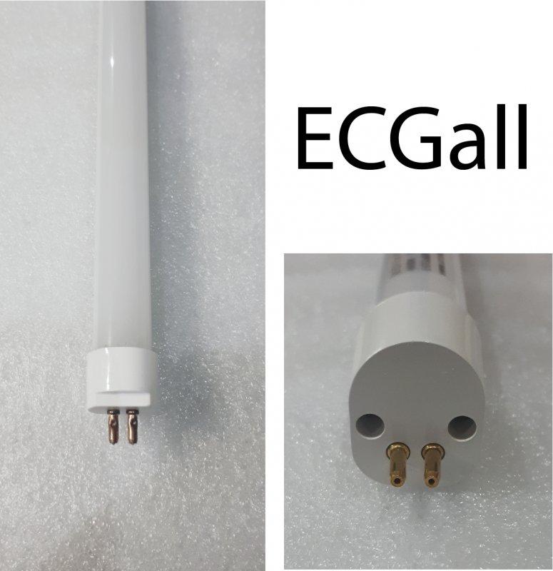 LED Röhre T5 HE Kompatibel 9 Watt 60cm nw Milch-Cover ECGall