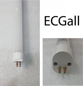 LED Röhre T5 HE Kompatibel 18 Watt 120cm nw Milch-Cover ECGall