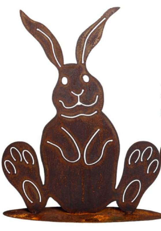 Hase Metall Rost 70cm