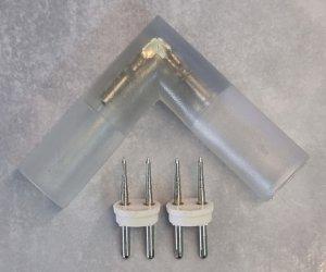Eckverbinder 230V LED Lichterschlauch
