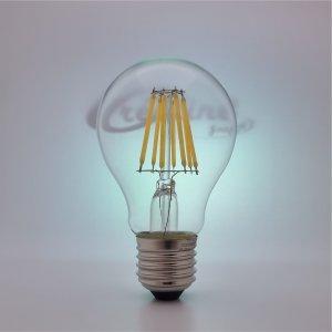 LED Kugel E27 8W filament Klarglas