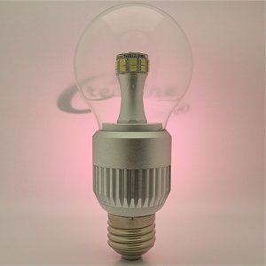 E27 9 Watt clear dimmbar nw/cw