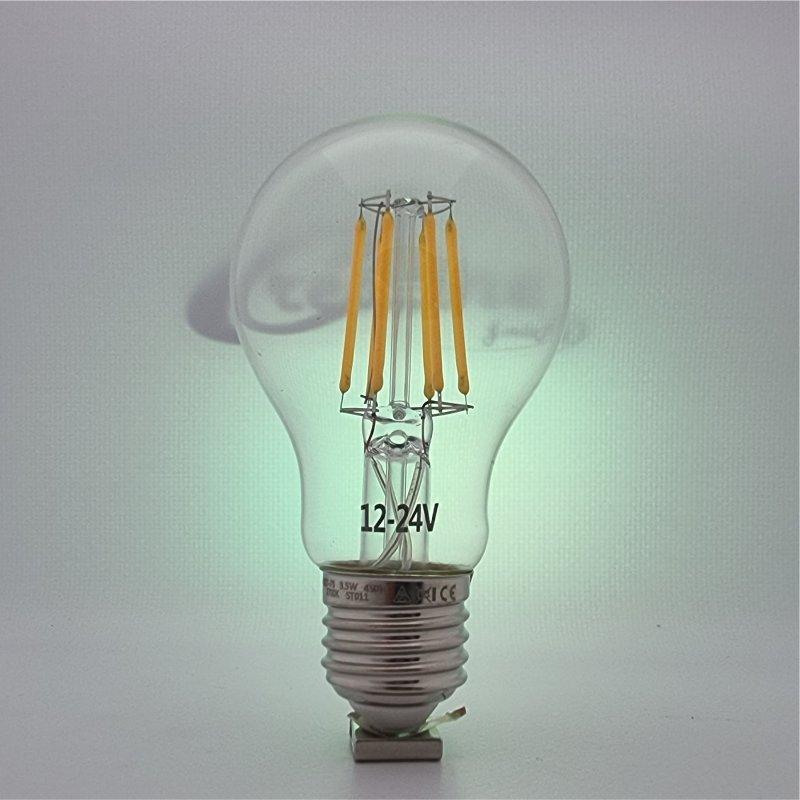 LED Kugel E27 3.5Watt 12-24V 2700K