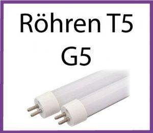 LED Röhren T5 G5 Sockel