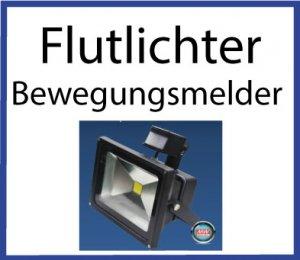 LED Flutlichter mit Bewegungsmelder