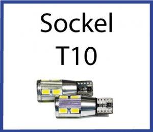 LED Sockel T10