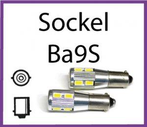 LED Sockel BA9S