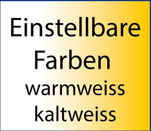 LED Warmweiss - Kaltweiss