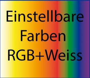 LED RGB+ Weiss