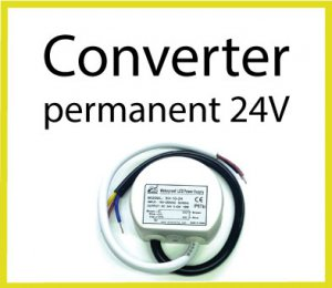LED Converter permanent 24V