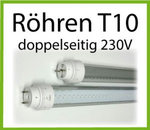 T10 Röhren doppelseitig