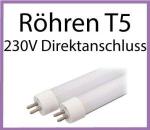 LED Röhren T5 230V Direktanschluss
