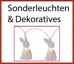 spezielle Leuchten, Dekoratives