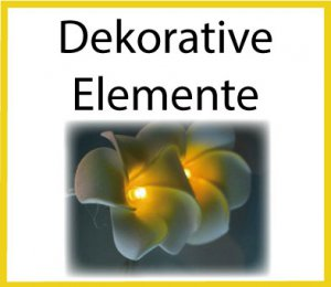 LED Dekorative Elemente