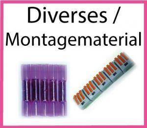 Diverses/Montagematerial