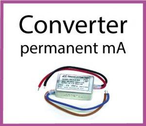 LED Converter permanent mA
