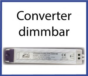 LED Converter dimmbar