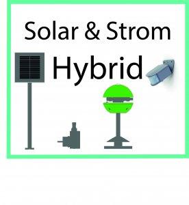Solar & Strom Hybrid - System