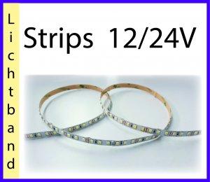 Strips 12V, 24V, Lichtband