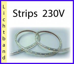 Strips 230V, Lichtband