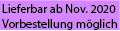 Lieferbar ab Nov. 2020